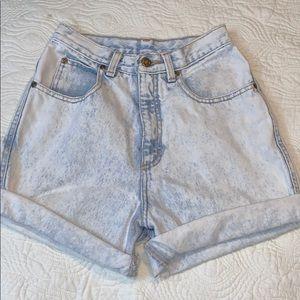 Vintage Zena Stone awash High Waist Shorts D